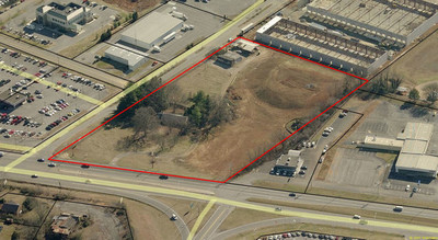 5.74 Acres | Alcoa Hwy adjacent to West Chevrolet