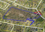 ±12 Acres with High Density Zoning