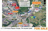 +/- 1.24 Acres Pigeon Forge
